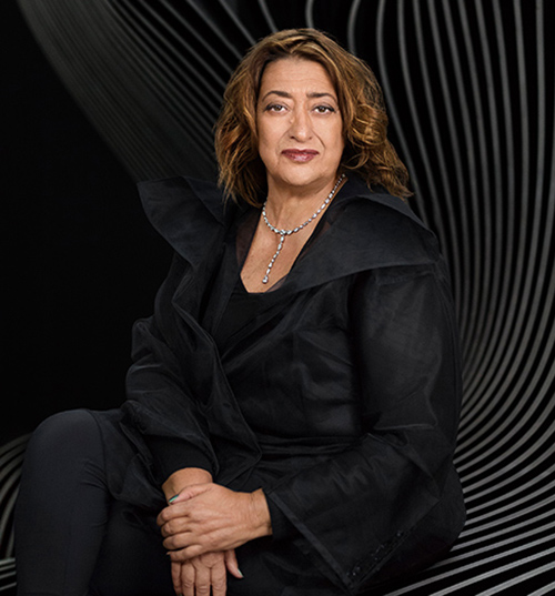 Credit: Zaha Hadid by Mary McCartney