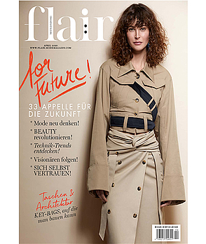 flair Magazin im April 2020: flair for Future: 33 Appelle für die Zukunft