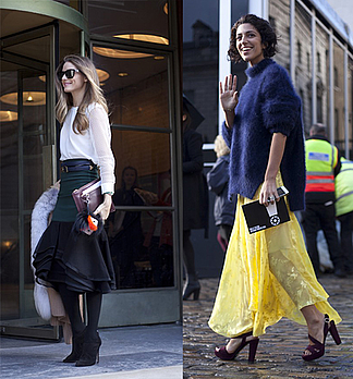 Streetstyles von der London Fashion Week H/W 2014/15