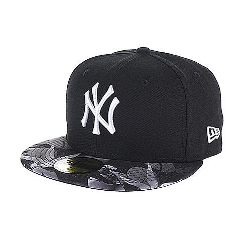 "Fitted Cap ""Birds of Paradise / New York Yankees"" in Schwarz von NEW ERA"