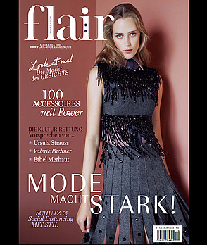 flair Magazin im September 2020: Mode macht stark!