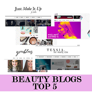 Top 5 Beauty-Blogs