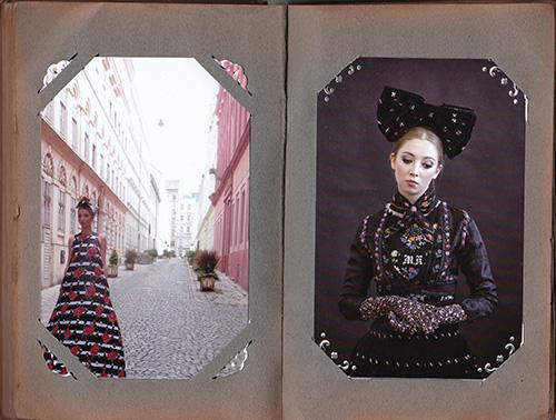 """Mode mit Substanz: Entwürfe aus Susanne Bisovskys Kollektion """"Die schöne Wienerin"""" / Foto: Salon Susanne Bisovsky"""