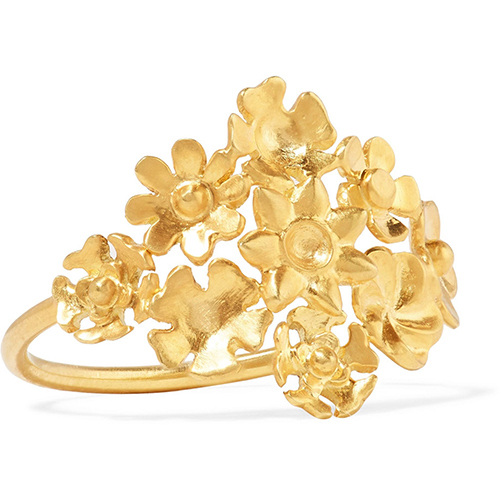 Ring aus 18 Karat Gold von Pippa Small / Foto: PR