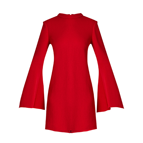 Duckie flared-sleeve mini dress von Ellery