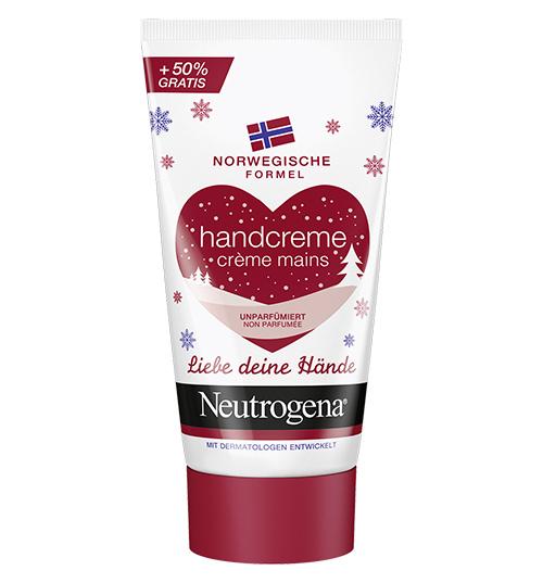 """Neutrogena """"Norwegische Formel Handcreme unparfümiert"""" Ltd. Edition"""