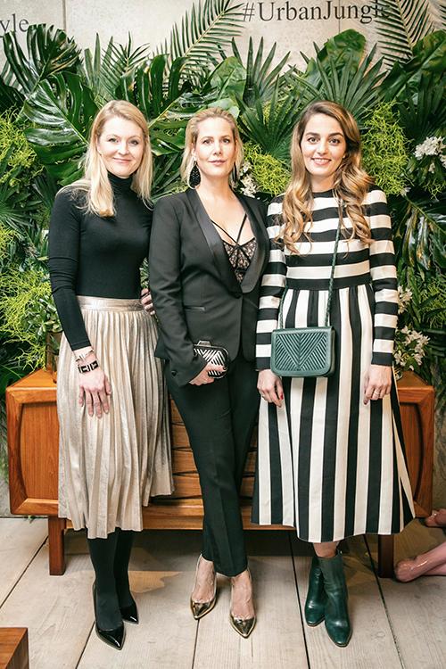 Lili Radu, Anika Decker und Melanie Kelm von Tiffany&Co. / Foto: PR