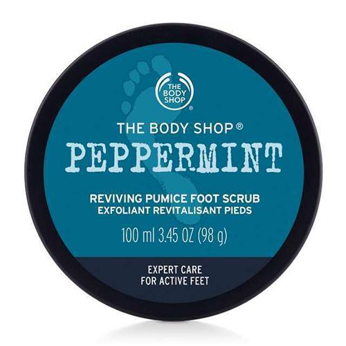 The Body Shop Peppermint Bimsstein-Fußpeeling