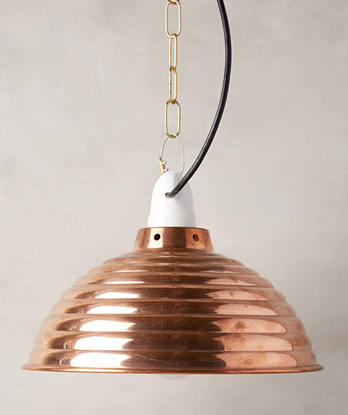 Lampe von Anthropologie
