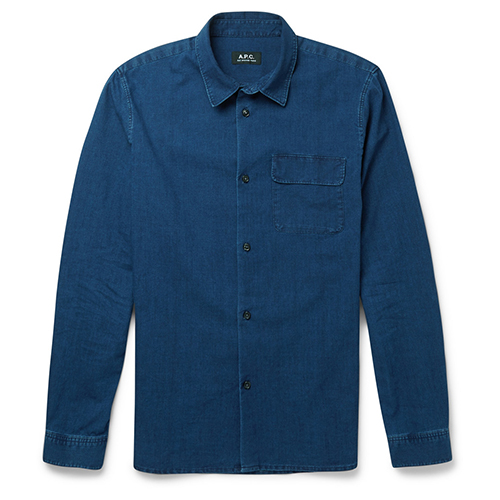 Denim-Shirt von A.P.C.