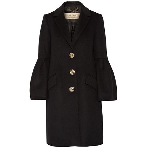 Mantel aus einer Woll-Kaschmirmischung von Burberry
