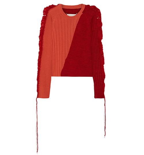 Wollpullover von Maison Margiela via Net-a-porter / Foto: PR