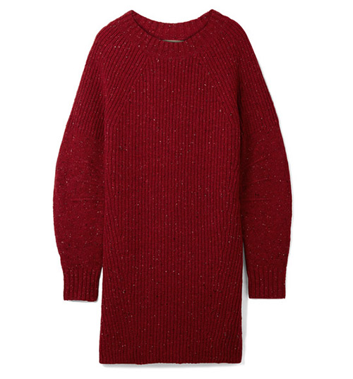Oversized-Pullover aus einer gerippten Woll-, Kaschmir- und Mohairmischung von Burberry