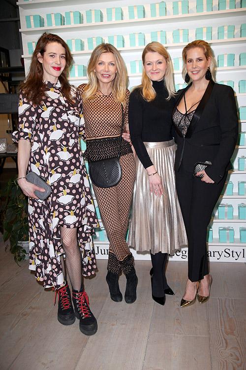 Julia Malik, Ursula Karven, Melanie Kelm, Anika Decker / Foto: PR
