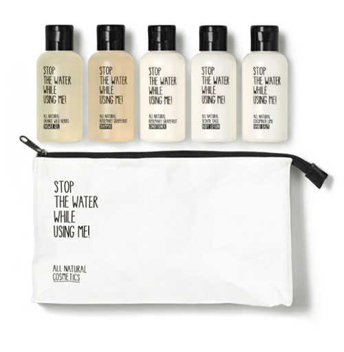 """All Natural Cosmetics Travel Kit"" von Stop The Water While Using Me"