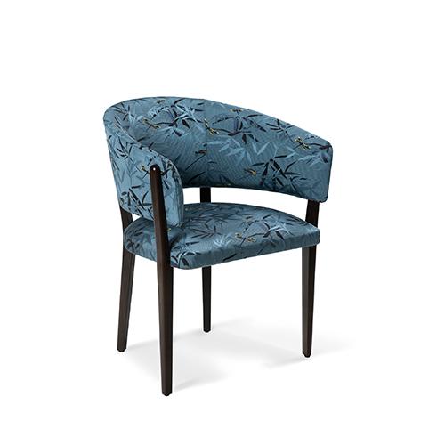 Sessel mit Damastbezug von ARMANI CASA / Foto: PR