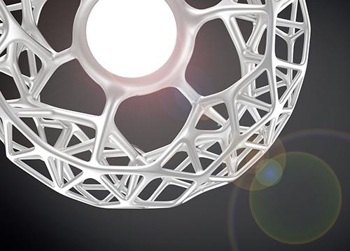 CELL LED Leuchte © Lasch & Prillwitz Design