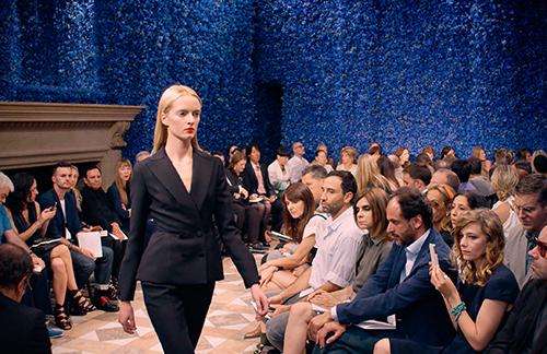 Die große Haute Couture-Schau