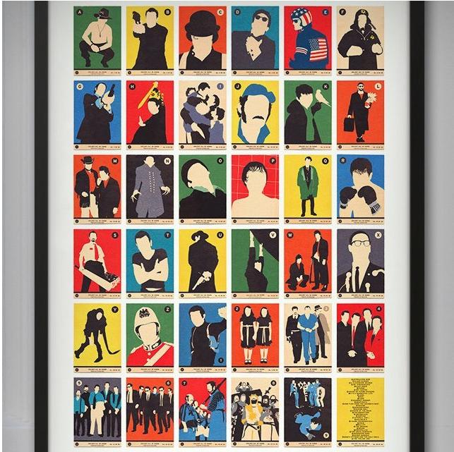 Movie Classics A bis Z Poster, ca. 47 €