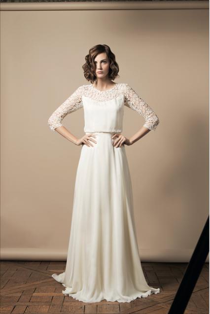 the latest 14aa0 ecc3e Brautkleider 2014 - die Brautmoden Trends von Vera Wang ...