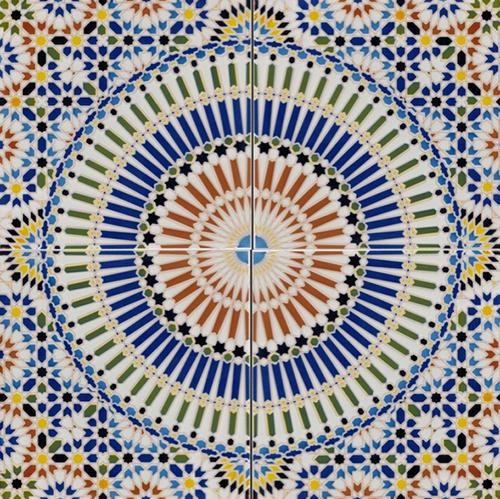 Fliese Rami von Buntes Marokko