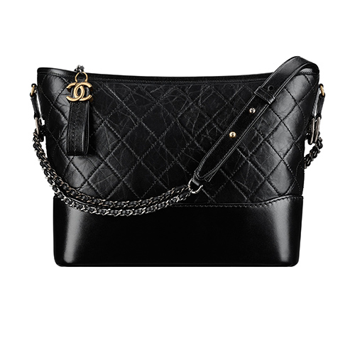 Black leather Gabrielle handbag / Foto: CHANEL
