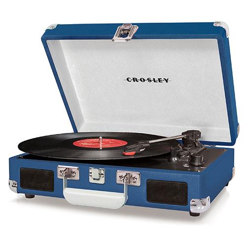 """Plattenspieler """"Cruiser"""" von Crosley in blue"""