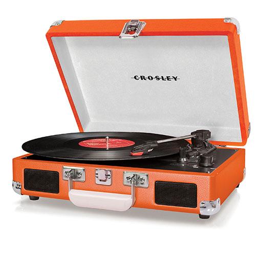 """Plattenspieler """"Cruiser"""" von Crosley in orange"""