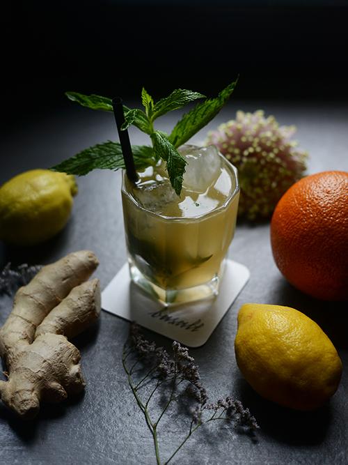 Hochwertige Drinks in der Basalt Bar / Foto: Tabea Mathern