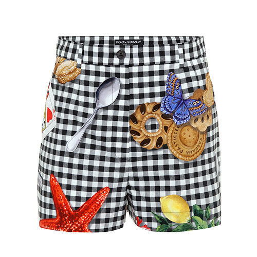 Shorts aus Baumwolle von Dolce & Gabbana über mytheresa.com / Foto: PR
