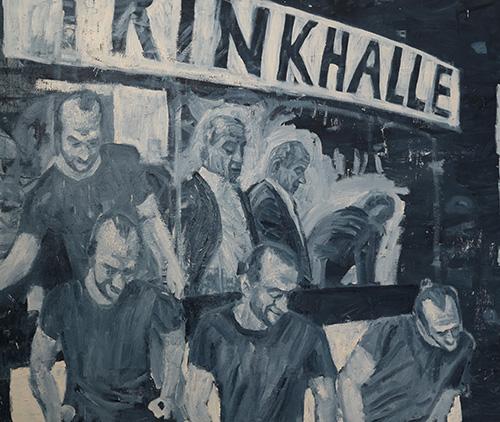 "Felix Reineker ""Trinkhalle1"", 2015 © Kunst im Tunnel, Kunsthalle Düsseldorf"