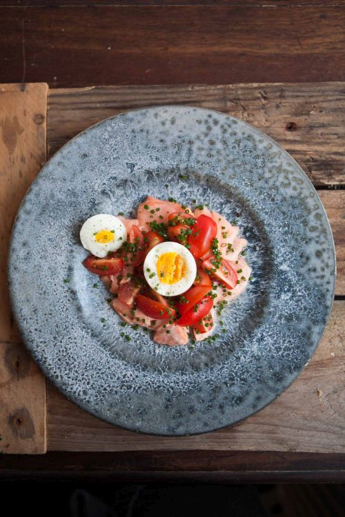 Feast Hannah Grant egg salmon and tomato-500