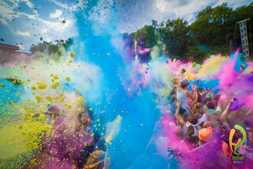 Holi Festival - Farbenmeer