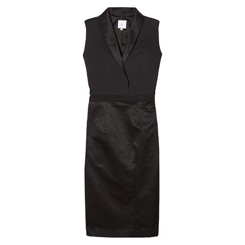 Altieri Shawl Collar Dress von goop / Foto: goop label