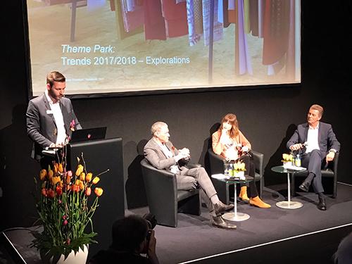Einen Ausblick in die textile Zukunft gab es auch schon bei der Eröffnung der Heimtextil-Messe 2017