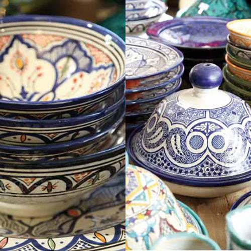 Marrokanische Keramik von Suppan&Suppan