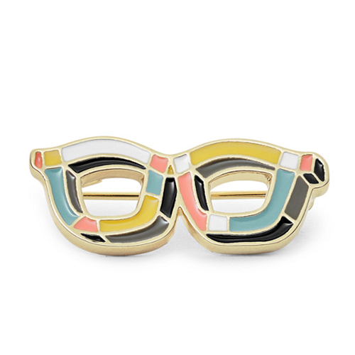Anstecker - Glasses von Fossil