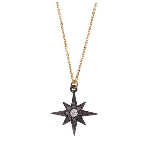 Gold Northern Star Necklace von Laura Lee
