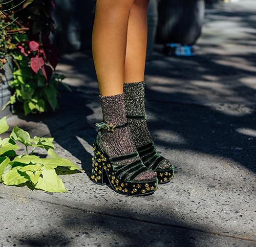 Leandra-wearing-The-LOL-if-You-Think-I m-Walking-Sandal 2