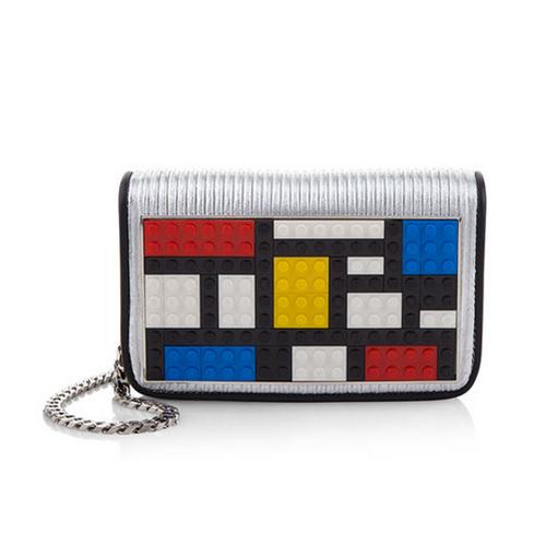 Micro Janis Mondrian Clutch Bag von Les Petits Joueurs