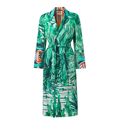 Kimono-Wrap-Coat Jungla von Pierre Frey fu?r MAISON ALMA