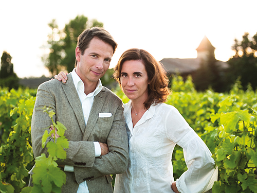 Mathilde and Bertrand Thomas