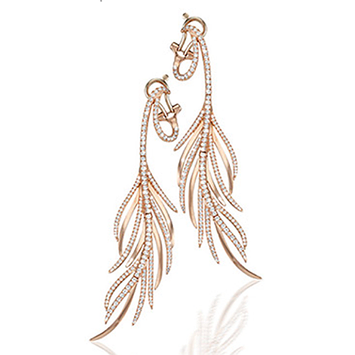 Feather Diamond Earrings von Oliver Heemeyer / Foto: PR