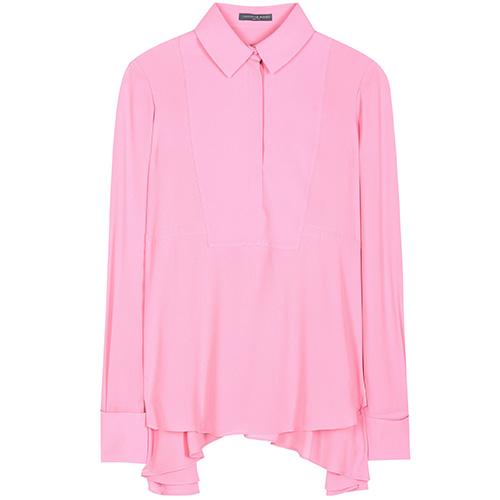 Georgette blouse von Alexander McQueen