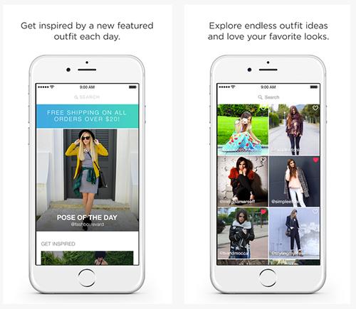 Pose - die Selfie App um seinen Look zu präsentieren