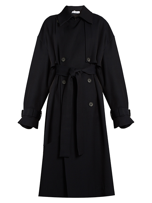 Raey über matchesfashion.com: Displaced-sleeve oversized twill trench coat