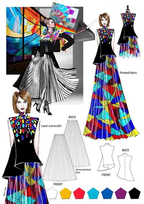 Die award gala zum frankfurtstyleaward flair fashion home for Modeschule frankfurt