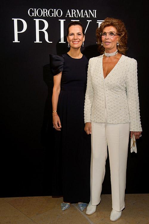 Roberta Armani und Sophia Loren / Foto: SGP