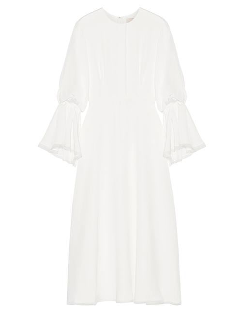 Robe aus Seide von Roksanda