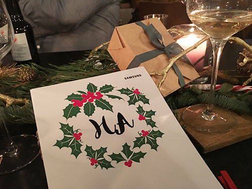 Samsung Christmas Dinner